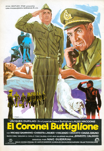 COLONEL BUTTIGLIONE BECOMES A GENERAL