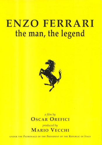 ENZO FERRARI: THE MAN, THE LEGEND