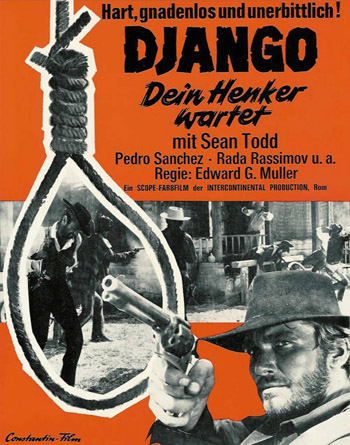 NO ESPERES DJANGO...¡DISPARA!