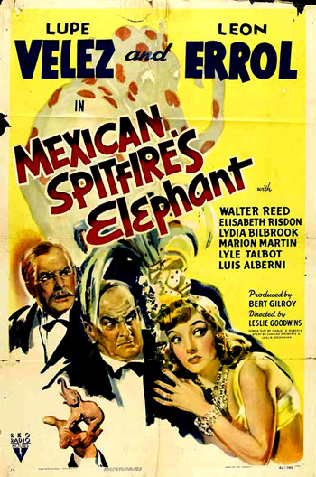 MEXICAN SPITFIRE´S ELEPHANT