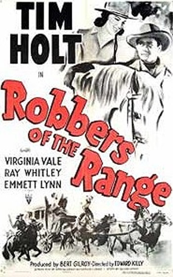 ROBBERS OF THE RANGE