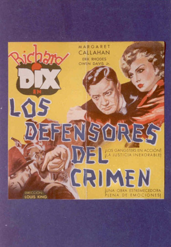 LOS DEFENSORES DEL CRIMEN