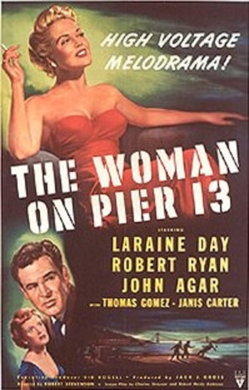 THE WOMAN OF PIER 13